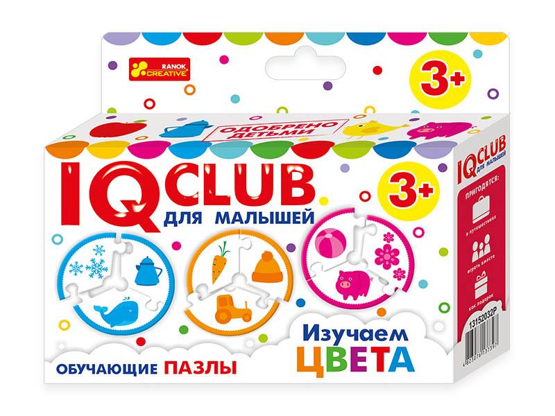 Пазл Ranok Creative IQ Club Изучаем цвета 13152032Р цена
