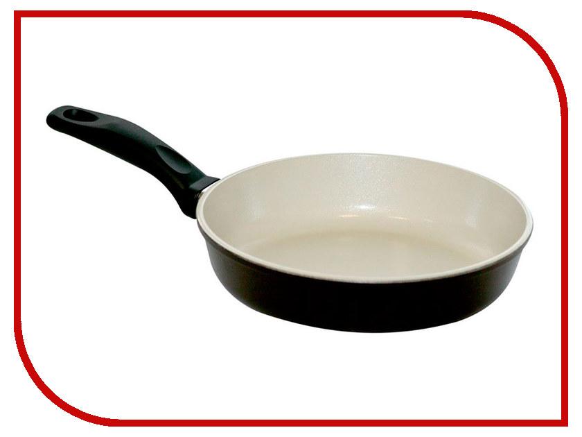 Сковорода Любава Эко 22cm Grey К22С сковорода любава керамогранит серый