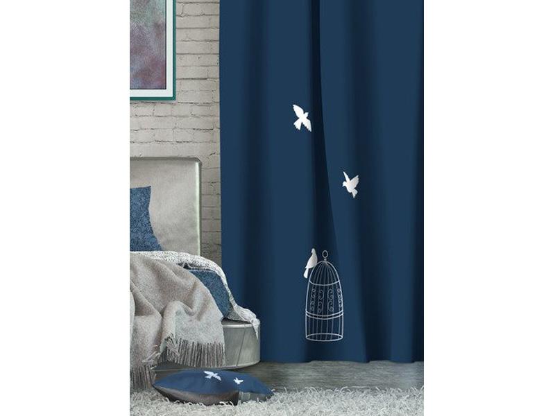 Фото - Штора Волшебная Ночь Dove 150x270cm Blekaut 705460 штора волшебная ночь dove на ленте цвет черный синий белый высота 270 см 705535