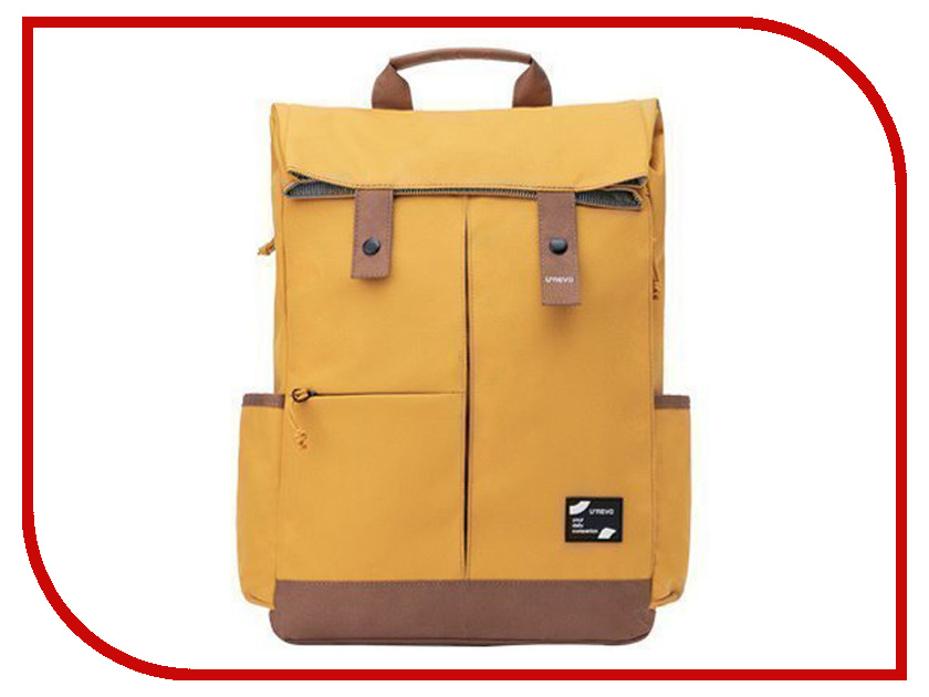 Фото - Рюкзак Xiaomi Urevo Youqi Energy College Leisure Backpack Yellow just star famous brand women s leather backpack female cartoon robot beading double shoulder bags ladies leisure travel rucksack