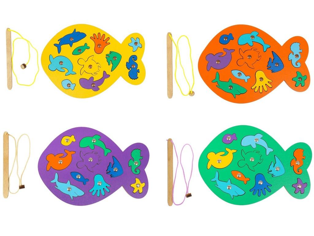 Настольная игра Smile Decor Магнитная рыбалка Рыбка Микс 3026153 все цены