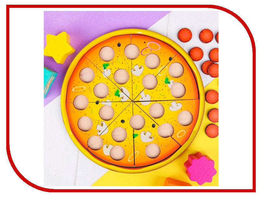 Настольная игра WoodLand Toys Пицца 3423115 стол woodland picnic table luxe 80x60x68 t 202