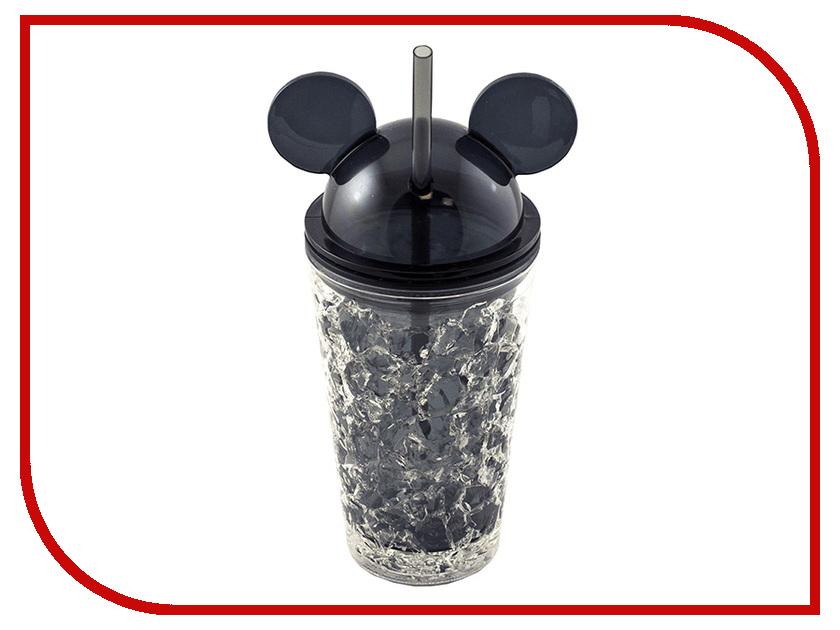 Термокружка Эврика Ледяной стакан Мики 450ml Black 99013