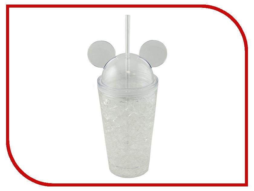 Термокружка Эврика Ледяной стакан Мики 450ml Transparent 99015