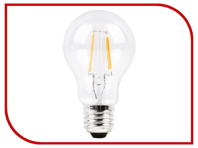 Лампочка Sparkled Filament E27 A60 4W 220V PF0.8 6500K LLF60-4E-65 лампочка sparkled mini classic e27 g45 3w 185 265v 3000k lls45 3e 30 27