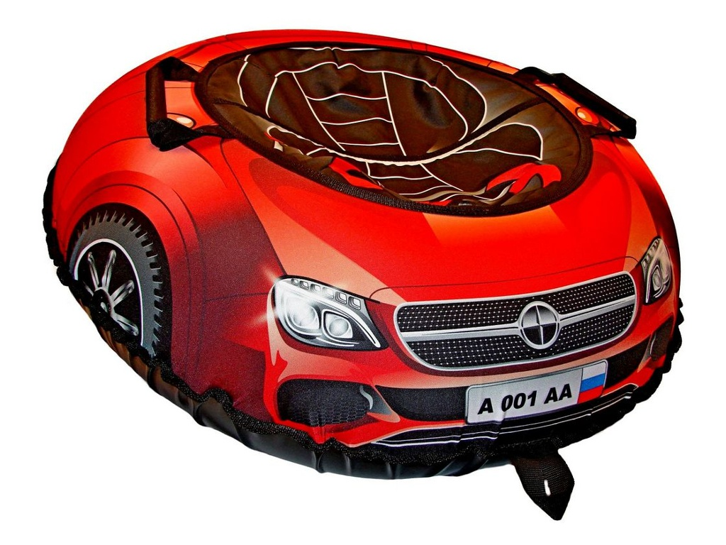 Тюбинг RT Super Car Mercedes 100cm Red + автокамера