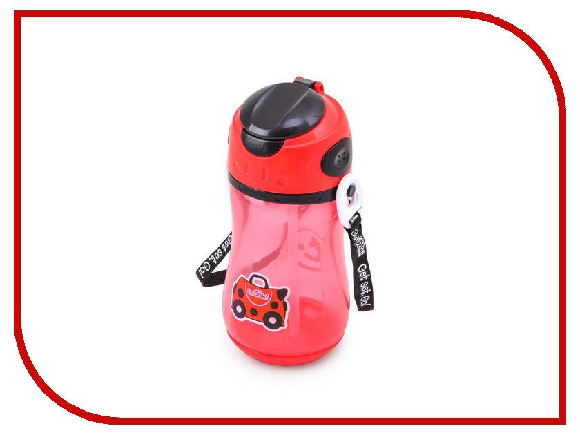 Бутылочка для воды Trunki Божья коровка 400ml 0296-GB01 trunki рюкзак коралловая рыбка 0173 gb01