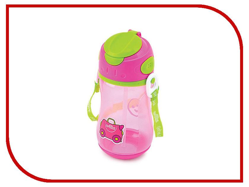 Бутылочка для воды Trunki 400ml Pink 0295-GB01 trunki рюкзак коралловая рыбка 0173 gb01