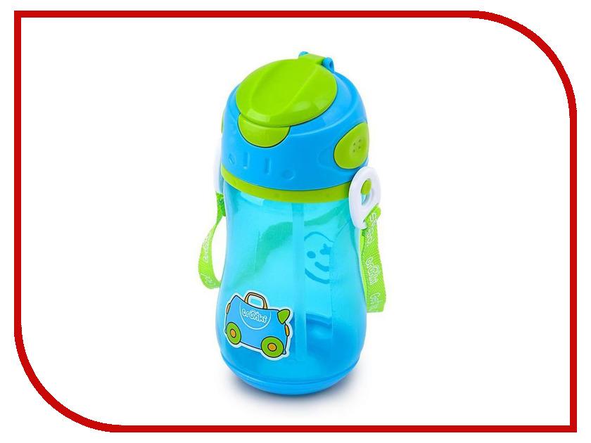 Бутылочка для воды Trunki 400ml Blue 0294-GB01 trunki рюкзак коралловая рыбка 0173 gb01