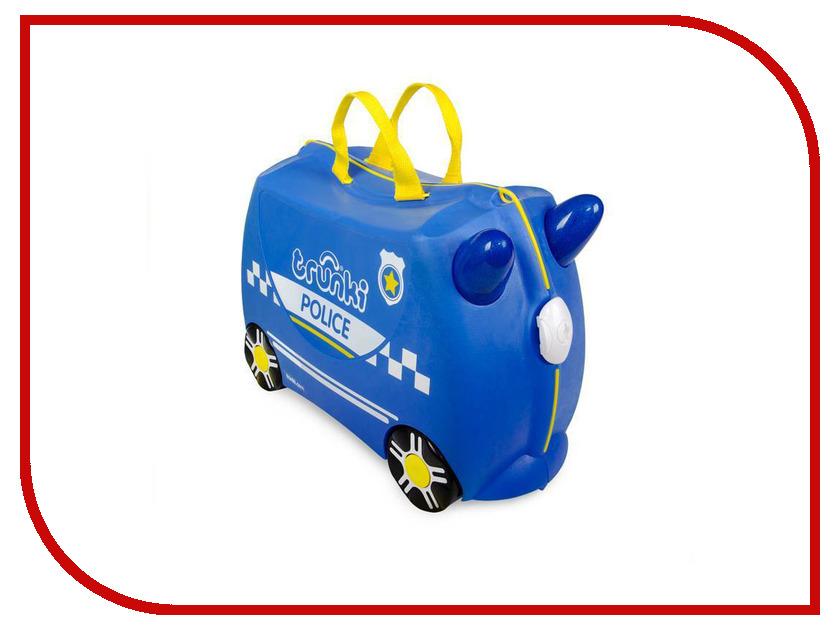 Чемодан Trunki Полицеская машина Перси 46x21x31cm 0323-GB01