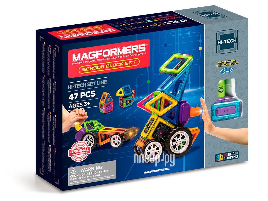 Конструктор Magformers Hi-Tech 709009 Набор с сенсорными датчиками
