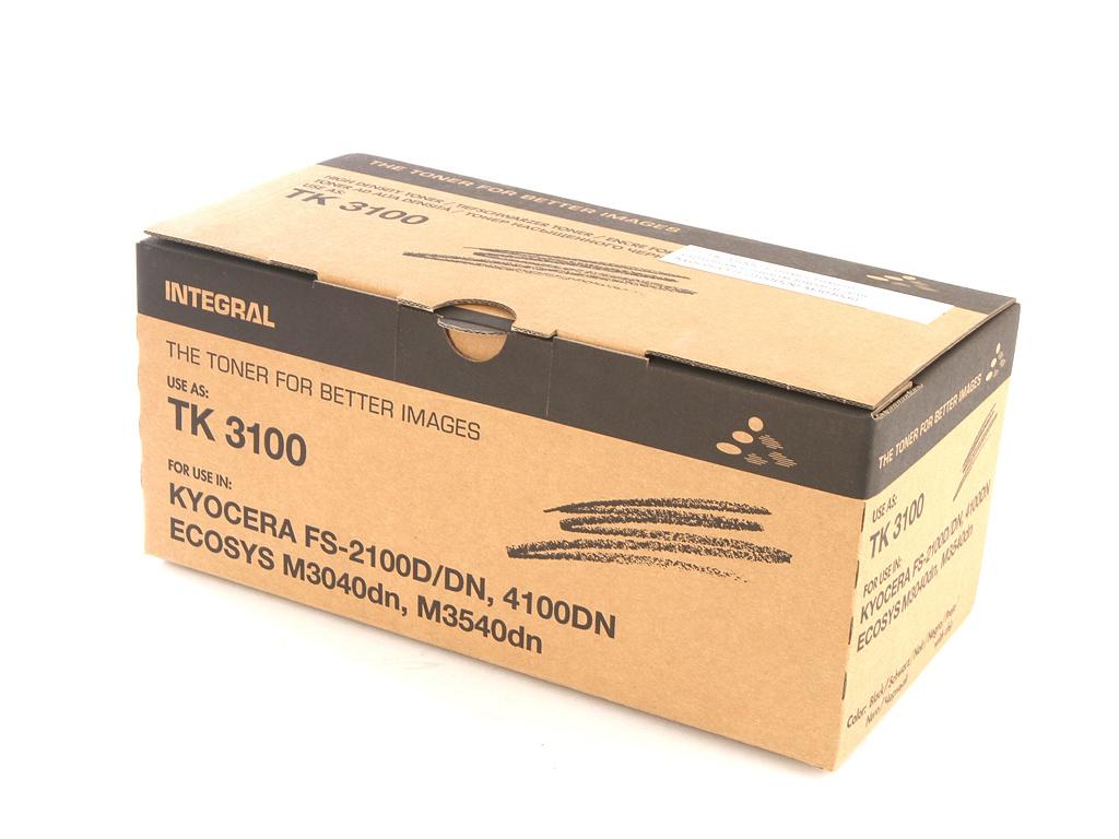 Картридж Integral TK-3100C для Kyocera FS-2100D(N)/M3040dn