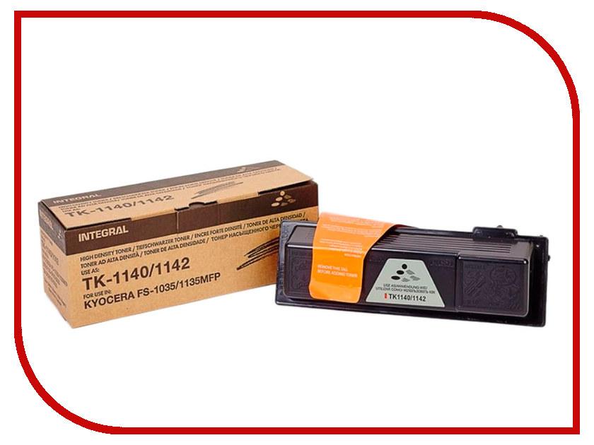 Картридж Integral TK-1140C для Kyocera FS-1035MFP/1135MFP/M2035dn картридж nv print nvp tk 1140 для kyocera mita fs 1035mfp 1035mfp dp 1135mfp 1035mfp l 7200стр