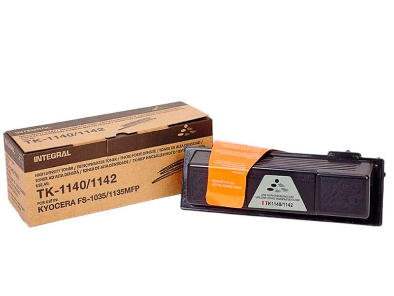Картридж Integral TK-1140C для Kyocera FS-1035MFP/1135MFP/M2035dn кассета в сборе kyocera ct 1130 для fs 1030mfp 1035mfp 1130mfp 1135mfp ecosys m2030dn pn m2030dn m2530dn m2035dn m2535dn 302mh93041 302mh93040
