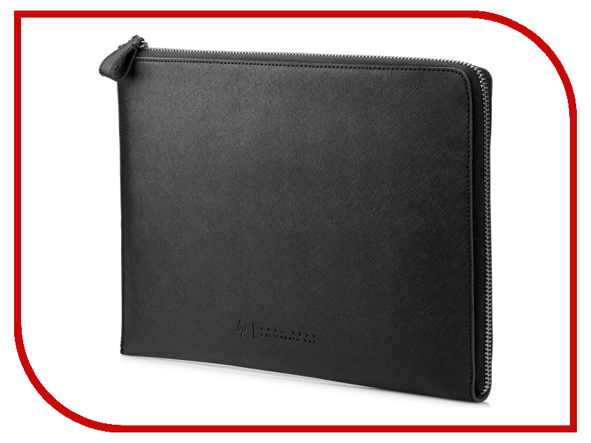 Аксессуар Чехол 13.3-inch HP Spectre Split Leather Sleeve Black 1PD69AA pu knot front split sleeve coat