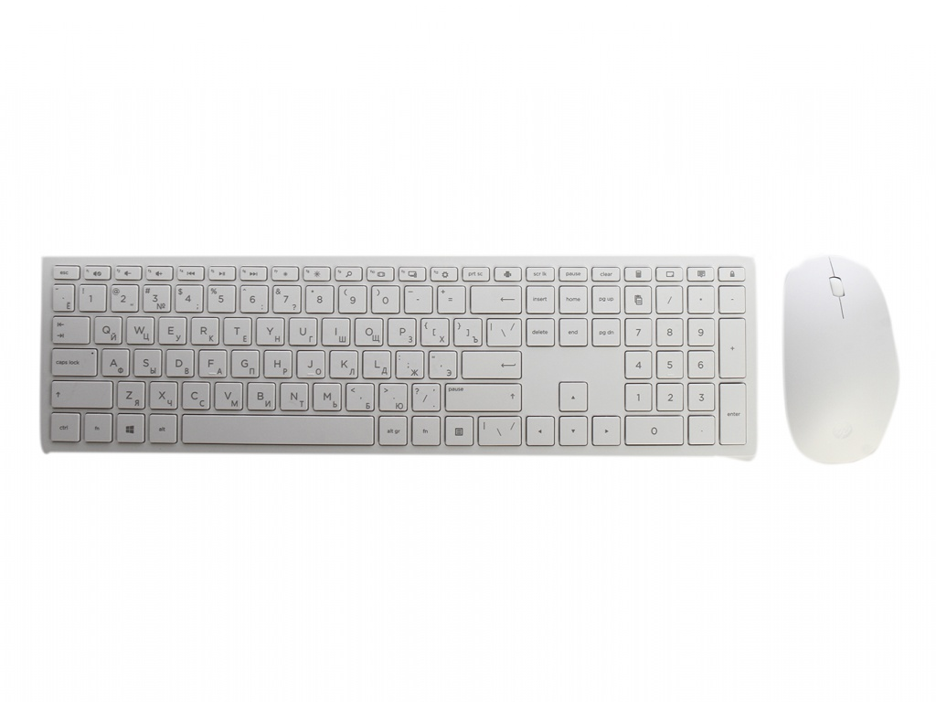 Zakazat.ru: Набор HP Wireless 800 USB White 4CF00AA