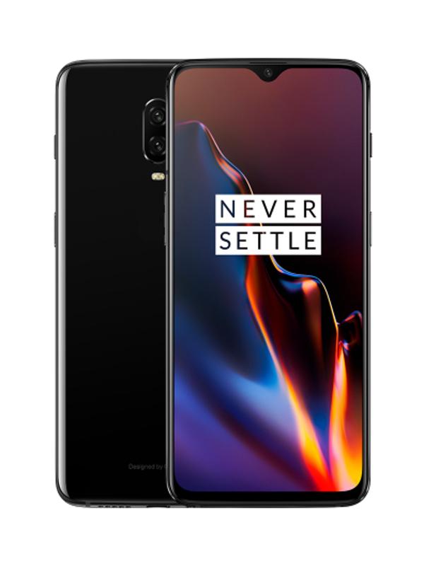 Сотовый телефон OnePlus 6T 6/128GB Black цена и фото