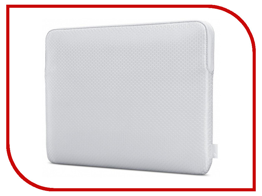 Аксессуар Чехол 13.0-inch Incase Slim Sleeve In Honeycomb Ripstop для APPLE MacBook Air Silver INMB100388-SLV чехол incase slim sleeve in honeycomb ripstop для apple macbook pro 13 черный