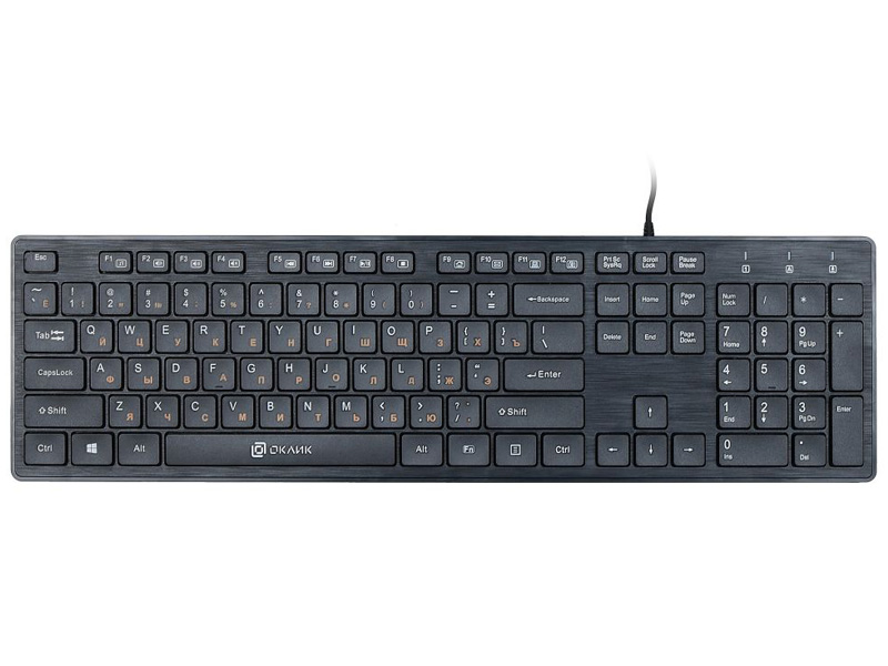 Клавиатура Oklick 520M2U Black USB