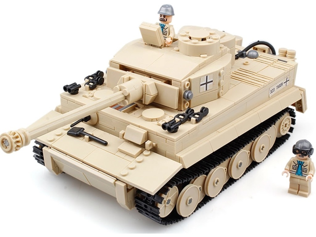 Конструктор Город Игр BrickBattle GI-6743 Танк Тигр