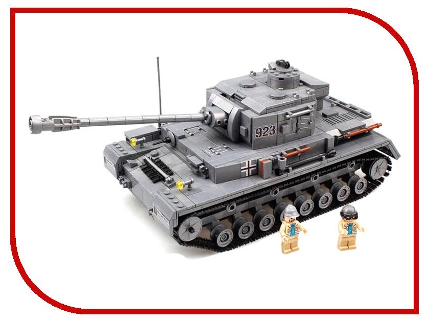 Конструктор Город Игр BrickBattle GI-6744 Танк Pz IV барятинский м лучший танк гитлера pz iv в 3d цветные компьютерные модели самая полная информация