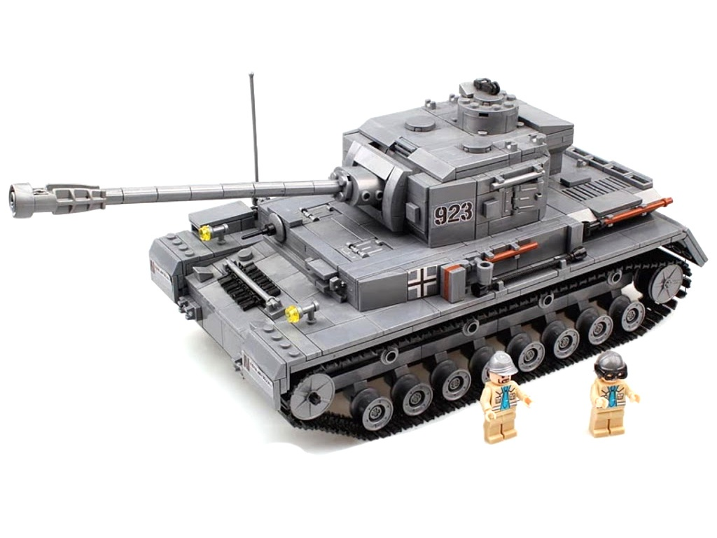 Конструктор Город Игр BrickBattle GI-6744 Танк Pz IV