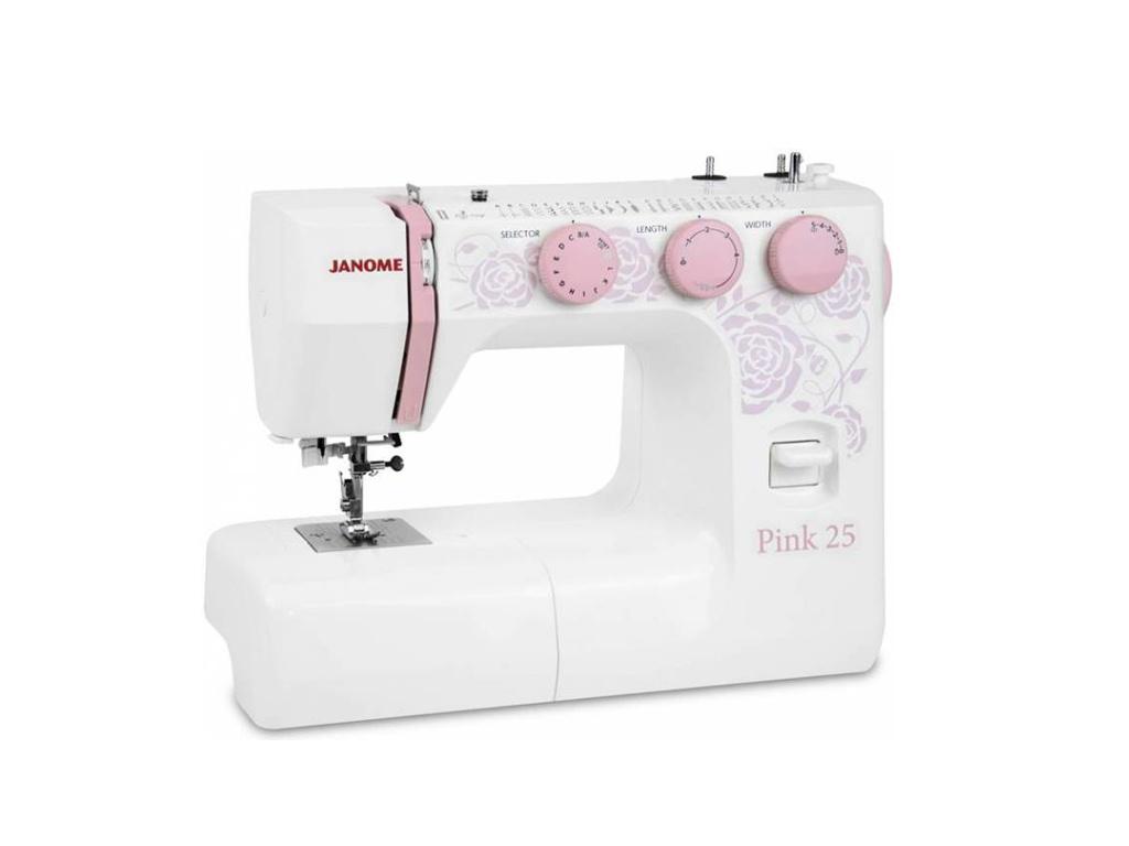 лучшая цена Швейная машинка Janome Pink 25