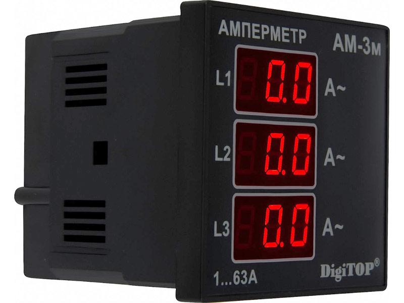Амперметр Digitop АМ-3M