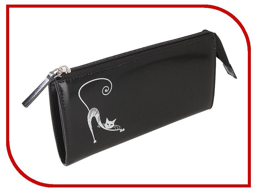 Портмоне Befler Изящная кошка PJ.157.-1 190x105mm Black 240712