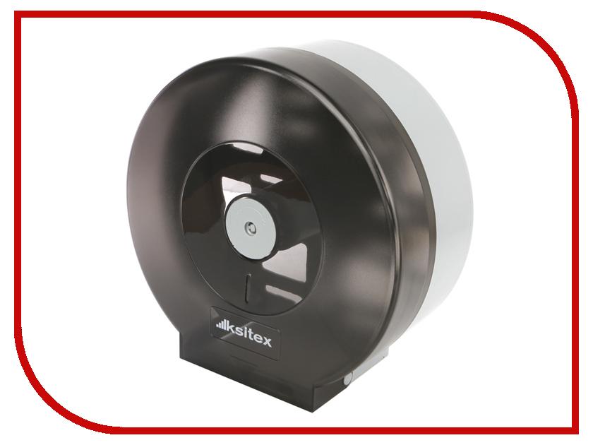Дозатор Ksitex TH-507B Black-Grey для туалетной бумаги дозатор ksitex th 404b для бумажных полотенец black