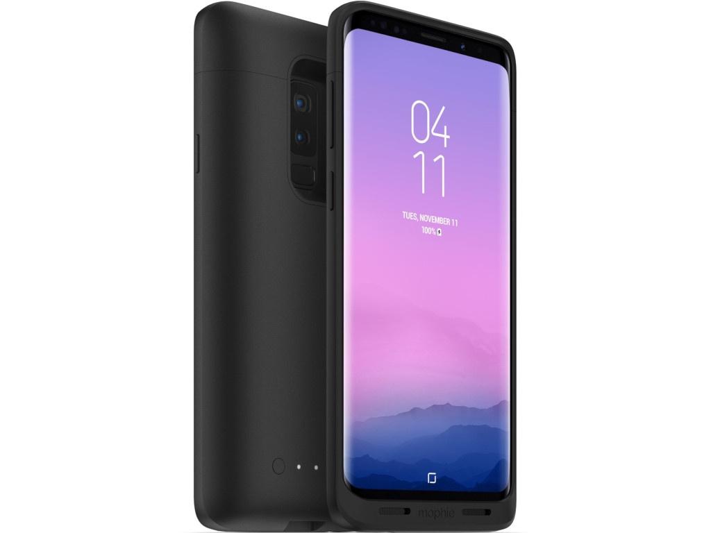 Аксессуар Чехол-аккумулятор Mophie Juice Pack для Samsung Galaxy S9 Plus 2070mAh Black 401001481 аксессуар аккумулятор samsung g850f galaxy alpha infinity 1860 mah