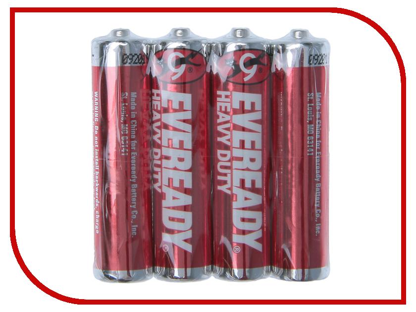Батарейка AAA - Energizer Eveready R03 1.5V (4 штуки) E301156200 батарейка energizer base aaa multi blister 20 шт