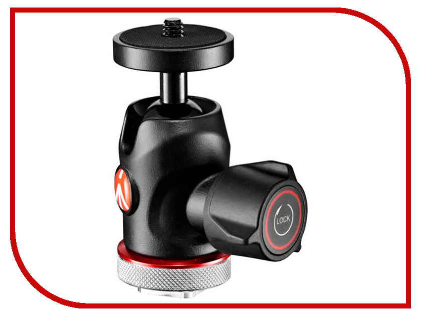 Головка для штатива Manfrotto MH492LCD-BH штатив manfrotto element traveller red mkeleb5rd bh