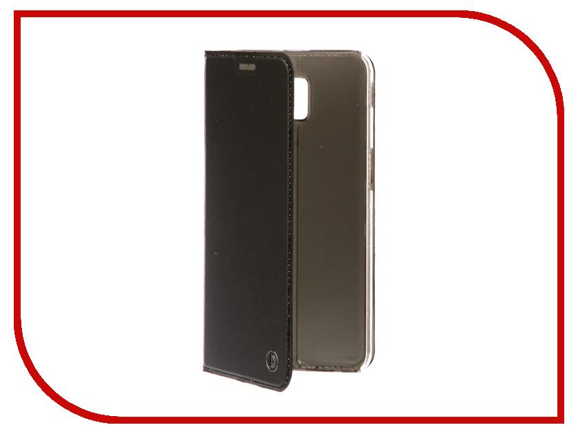 Аксессуар Чехол-книжка для Samsung Galaxy J6 Plus 2018 DYP Casual Wallet Black DYPCR00201 аксессуар чехол samsung j3 2017 j330f zibelino clear view black zcv sam j330 blk