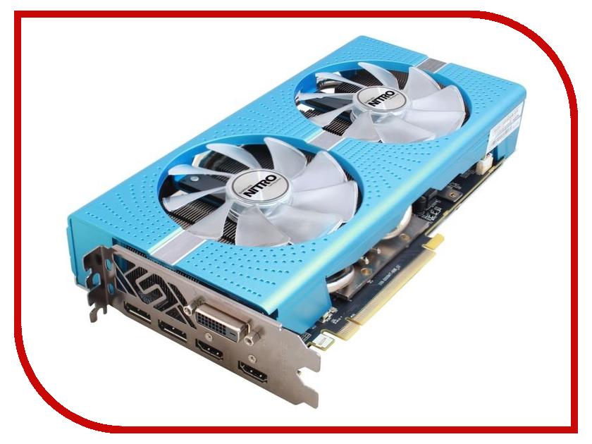 Видеокарта Sapphire Nitro+ Radeon RX 590 1470Mhz PCI-E 3.0 8192Mb 8400Mhz 256 bit DVI-D 2xHDMI 2xDP HDCP 11289-01-20G