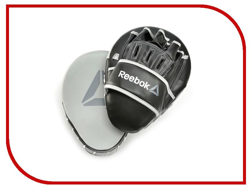 Лапы боксерские Reebok Retail Hook and Jab Pads Grey RSCB-11150GR лапы боксерские jivisport прямые е049