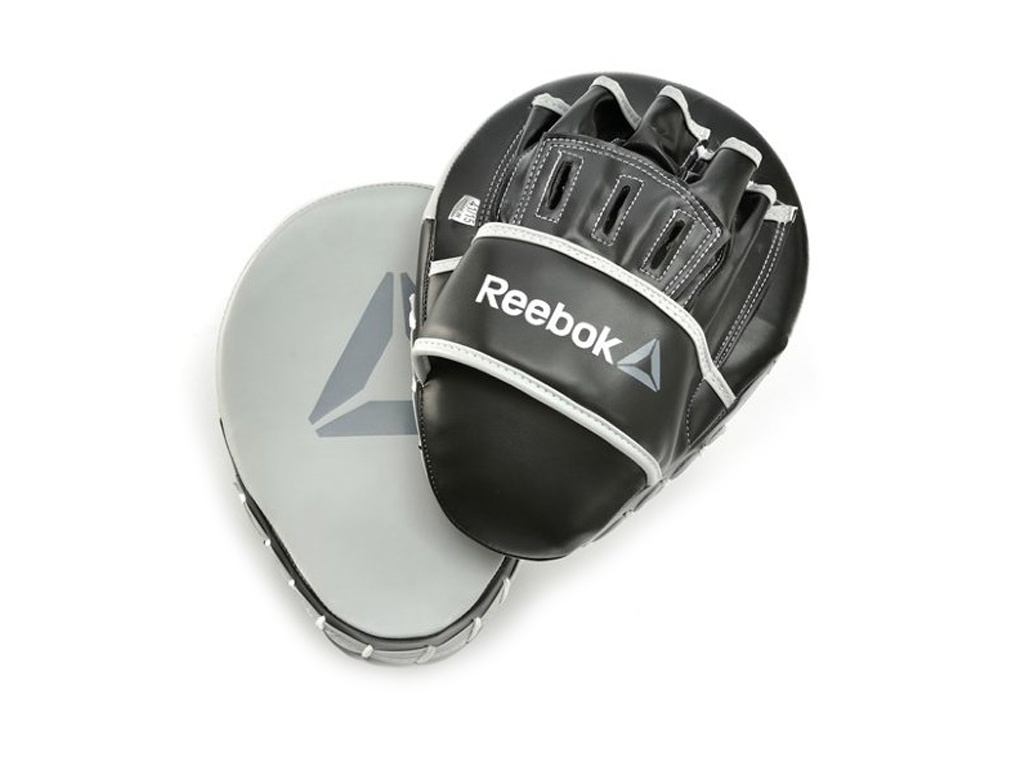Лапы боксерские Reebok Retail Hook and Jab Pads Grey RSCB-11150GR reebok rael 11025gr grey