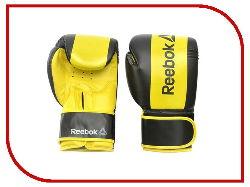 Перчатки боксерские Reebok Retail 12 oz Boxing Gloves Yellow RSCB-11112YL commando outdoor climbing half finger gloves tactical combat tactical black hawk riding fitness boxing gloves