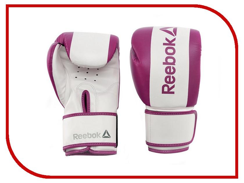 Перчатки боксерские Reebok Retail 10 oz Boxing Gloves Purple RSCB-11110PL commando outdoor climbing half finger gloves tactical combat tactical black hawk riding fitness boxing gloves