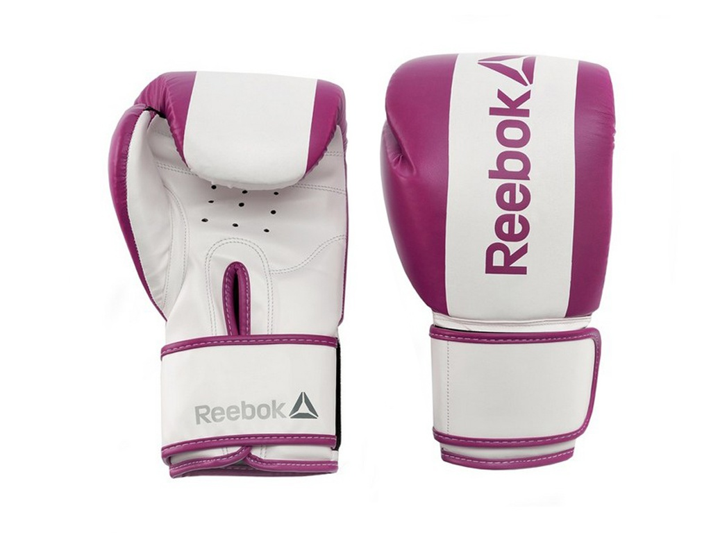 Перчатки боксерские Reebok Retail 10 oz Boxing Gloves Purple RSCB-11110PL
