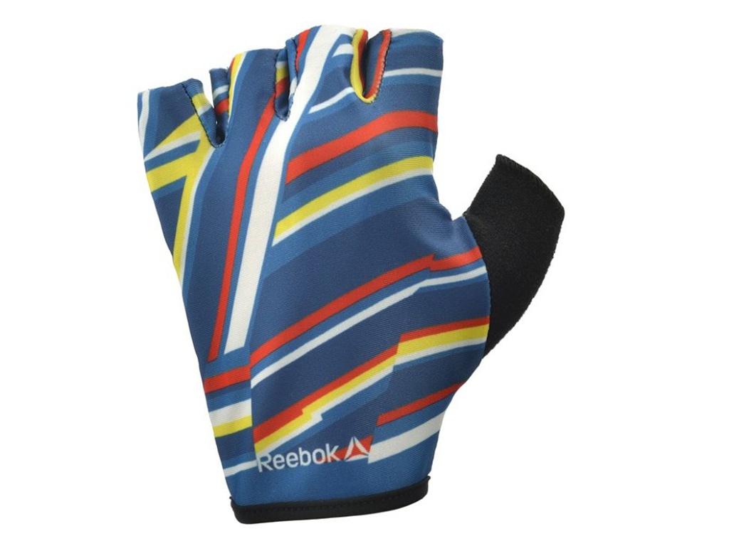 Перчатки для фитнеса Reebok размер M RAGB-12333ST куртка мужская reebok od dwnlk jckt цвет черный d78631 размер m 50