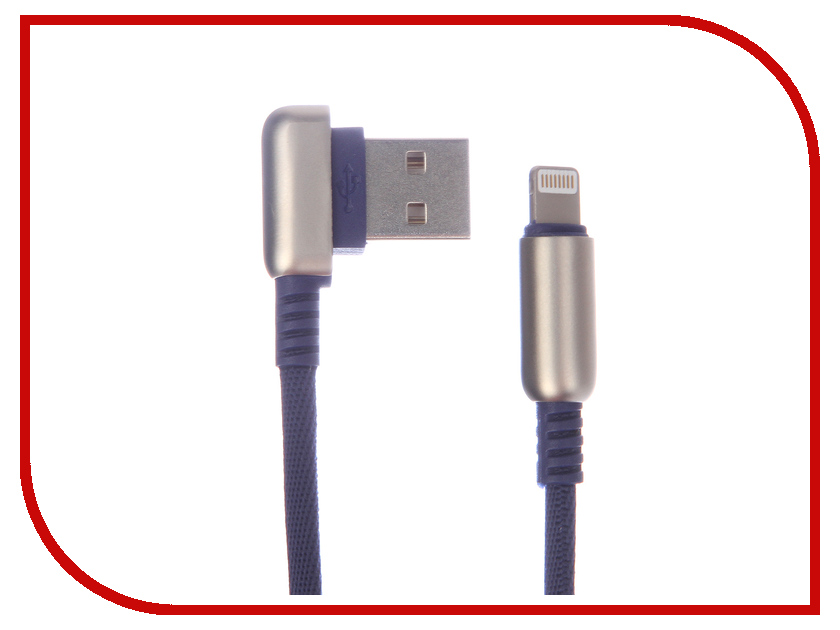 Аксессуар Red Line Loop USB - Lightning Blue УТ000016348 аксессуар red line fit usb microusb blue ут000015526