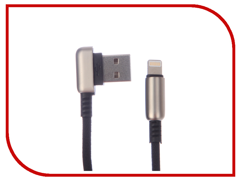Аксессуар Red Line Loop USB - Lightning Black УТ000016349