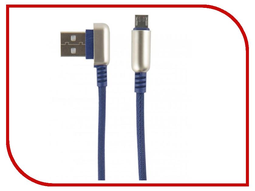Аксессуар Red Line Loop USB - MicroUSB Blue УТ000016352 мини наушники bluetooth стерео музыка беспроводная гарнитура шумоподавляющие наушники для iphone xiaomi huawei vivo oppo lenvo