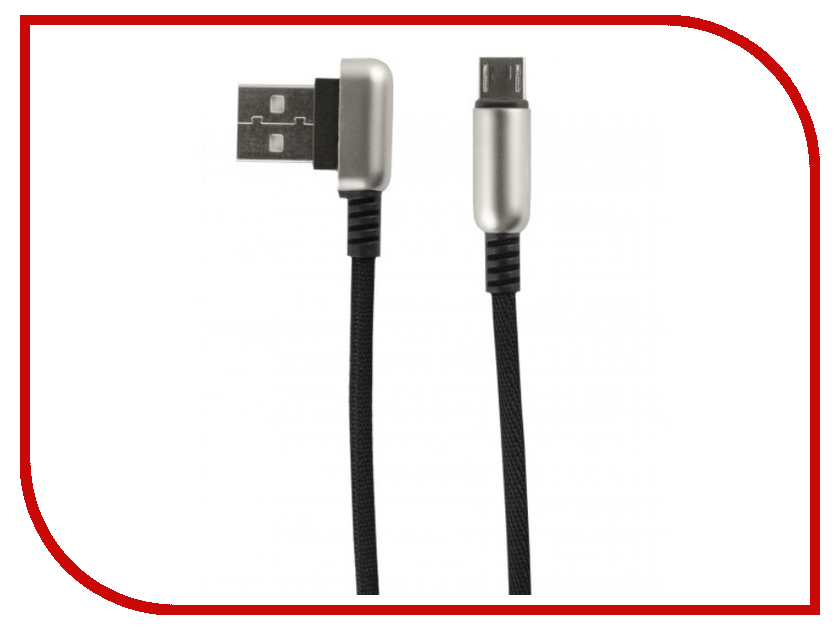 Аксессуар Red Line Loop USB - MicroUSB Black УТ000016351 аксессуар red line fit usb microusb blue ут000015526