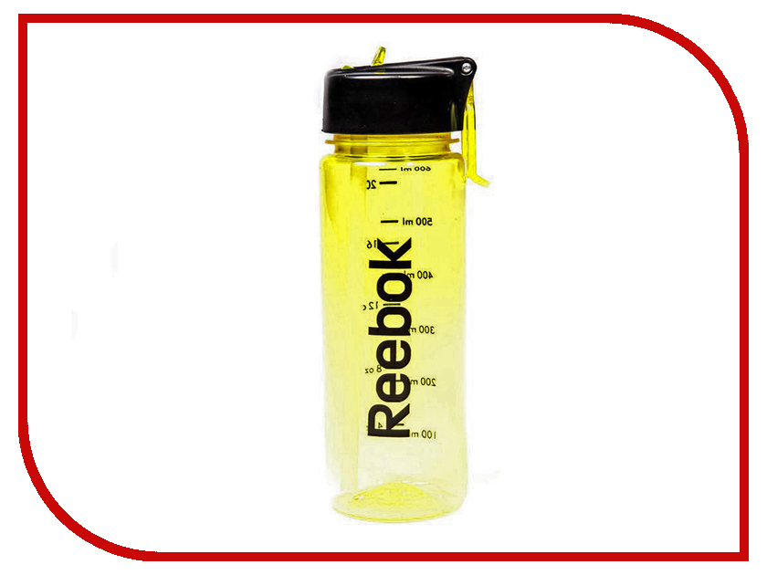 все цены на Бутылка Reebok 650ml Yellow RABT-P65YLREBOK
