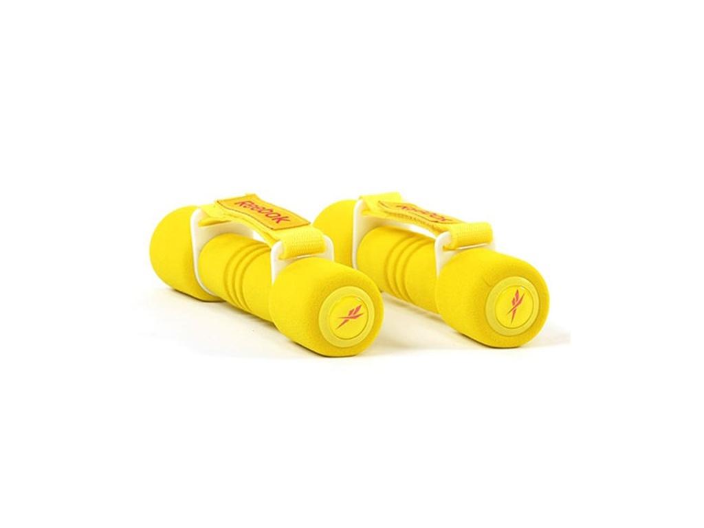 Гантели Reebok RAWT-11061YL 2x1kgг Yellow