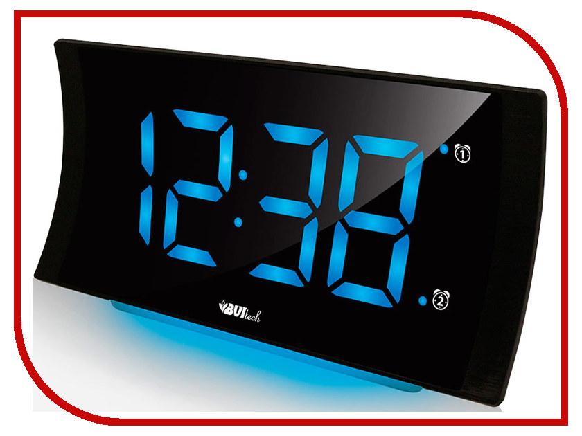 Часы BVItech BV-432BKS Blue-Black настольные часы bvitech bv 14gsk