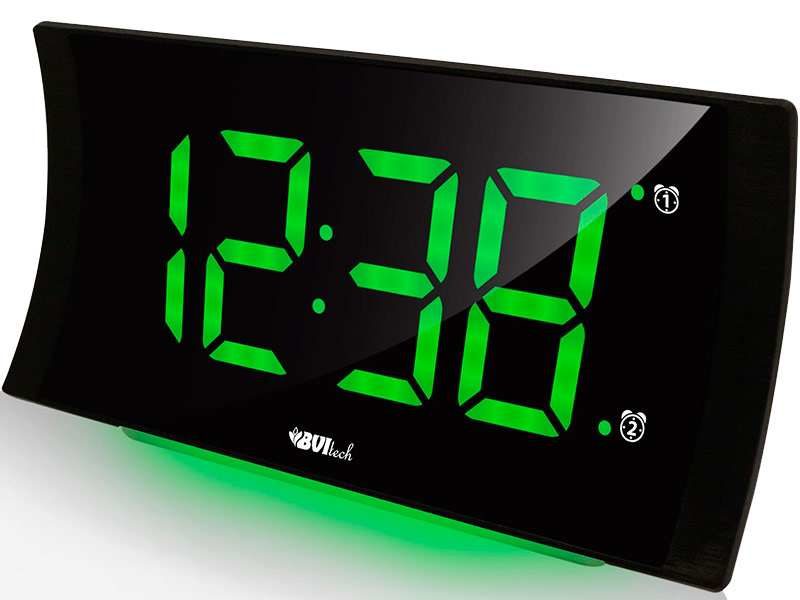 Часы BVItech BV-432GKS Green-Black