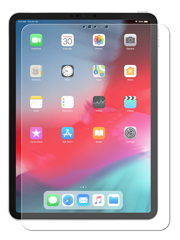 Аксессуар Защитный экран Red Line Tempered Glass для APPLE iPad Pro 11 УТ000016645 luxcase glass для apple ipad pro 12 9 2018